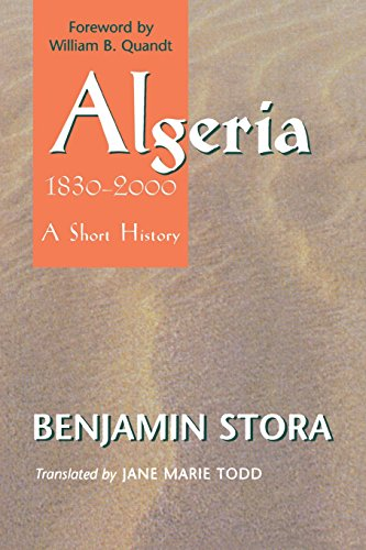 Algeria, 1830–2000: A Short History (Cornell Classics in Philosophy)