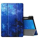 Fintie Slim Case for Samsung Galaxy Tab S6 10.5' 2019 (Model SM-T860/T865/T867), [Supports S Pen Wireless Charging] Tri-Fold Stand Cover Auto Sleep/Wake, Starry Sky