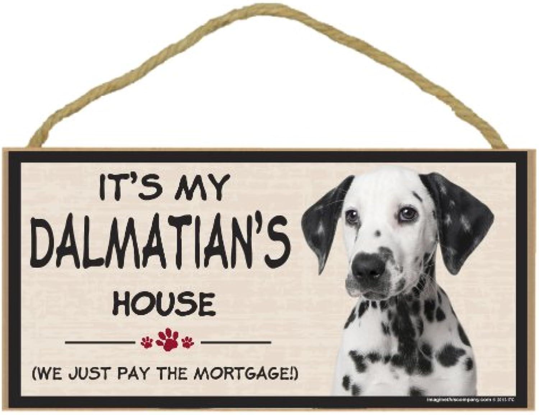 Imagine This Wood Breed Decorative Mortgage Sign, Dalmatian