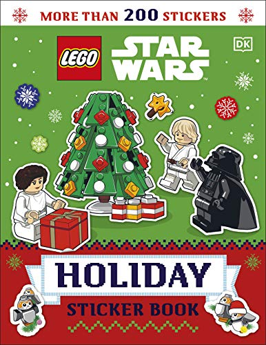LEGO Star Wars Holiday Sticker Book (Lego Sticker Books)