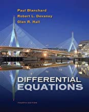 Differential Equations by Blanchard, Paul, Devaney, Robert L., Hall, Glen R.. (Cengage Learning,2011) [Hardcover] 4th Edition