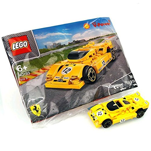 LEGO 2014 The New Shell V-Power Collection Ferrari 512 S 40193 Exclusive Sealed by