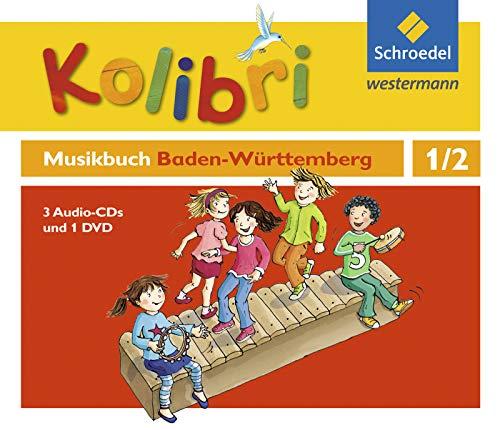 Kolibri: Das Musikbuch für Grundschulen Baden-Württemberg - Ausgabe 2016: Hörbeispiele und Tanz-DVD 1 / 2