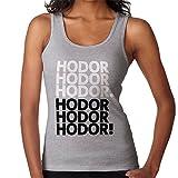 Get Over It Hodor Game Of Thrones Women's Vest