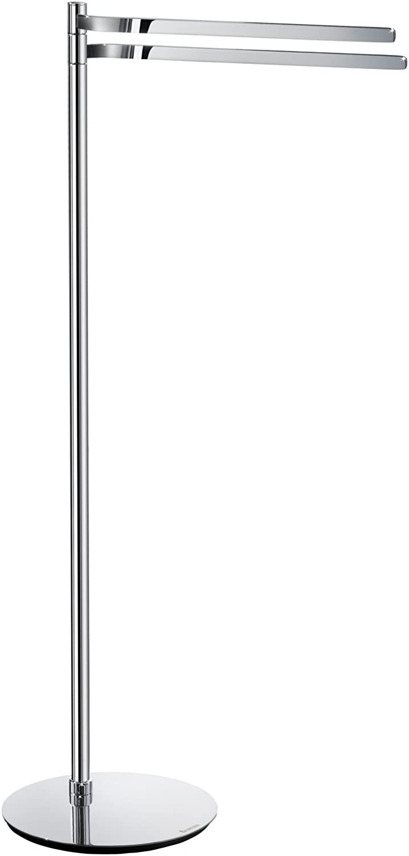 Smedbo Double Towel Rail Free Standing, Polished Chrome, FK315