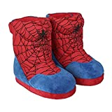 Calzado spiderman 8342-4550-azul-32/33 Cerdá Life´s Little Moments-Zapatillas de Casa Bota Spiderman Niño, Azul, 32/33 para Hombre