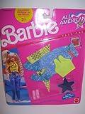 1990 Barbie Doll All American Fashion Set #9440