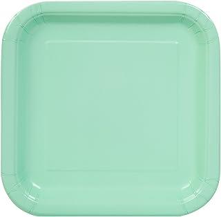 """أطباق ورقية مربعة لتزيين الكيك. 7"""" 99274"""