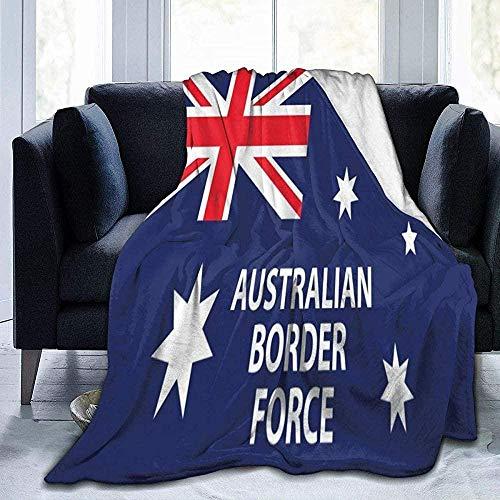 XZHYMJ Blanket Australian Border Force Throw Blanket Ultra Soft Velvet Blanket Bed Blanket Quilt Durable Blanket Sofa Blanket Carpet