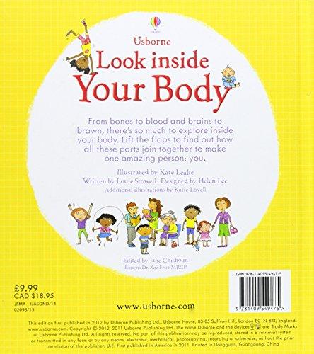 Look Inside Your Body (Look Inside): 1 (Look Inside Board Books)