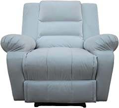 Classic Recliner Chair Upholstered Nice 02 - Grey