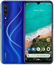 "Xiaomi Mi A3 Smartphone, 4GB RAM 64GB ROM Mobilephone, Pantalla AMOLED de 6,088"",Procesador Qualcomm Snapdragon 665 AIE,Triple cámara con IA (48 MP+8MP+32MP) versión Global (Azul)"