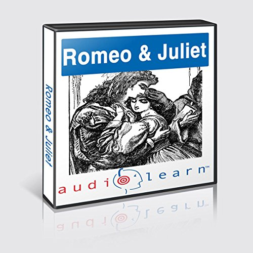 Romeo and Juliet AudioLearn Study Guide audiobook cover art