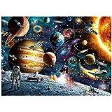 1000 Espacio Piezas Rompecabezas para Adultos, Temas de Puzzle Juegos de En Familia, Cartón Puzzles, Juegos educativos, Brain Challenge Puzzle para Niños Los niños de
