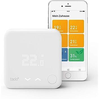 tado° Smartes Thermostat Starter Kit V3+, Intelligente Heizungssteuerung, Einfach selbst zu installieren, Designed in Germany