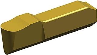 0.125 Width Carbide Right 0.01 Corner Radius TiN Coated GC Grade WIDIA 506101 Ranger Face Grooving Insert