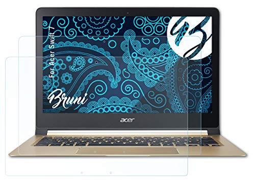 Bruni Schutzfolie kompatibel mit Acer Swift 7 Folie, glasklare Bildschirmschutzfolie (2X)