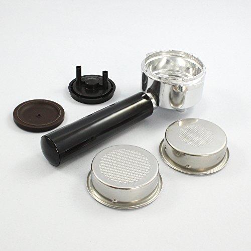 portafiltro 2tazas con adaptador monodosis–Moka Aroma 1377