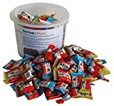 Party Bucket mit Ferrero Kinder Minis in Einzelverpackung, 1er Pack (1 x 1 kg)