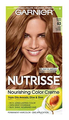 Garnier Nutrisse Nourishing Color Creme [63] Light Golden Brown 1 ea