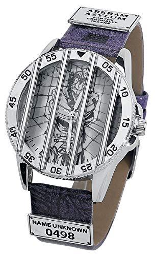 The Joker Joker in Jail Unisex Armbanduhren anthrazit