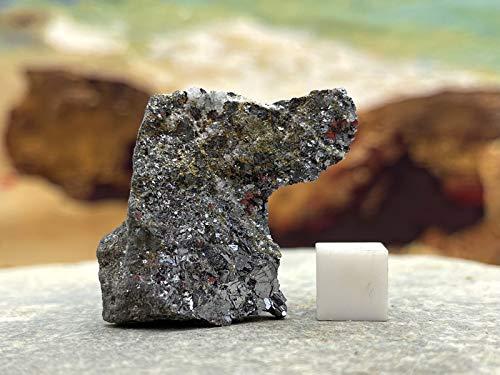 Galena - Piedra mineral de plomo de curación espiritual de cristal mineral 100% genuina