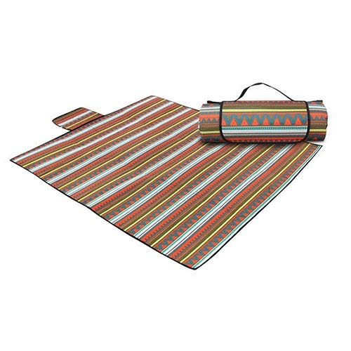 Fantastic Deal! WSJF Outdoor Mat,Picnic Blanket Mat, Foldable Table Cloth for Families, Waterproof P...