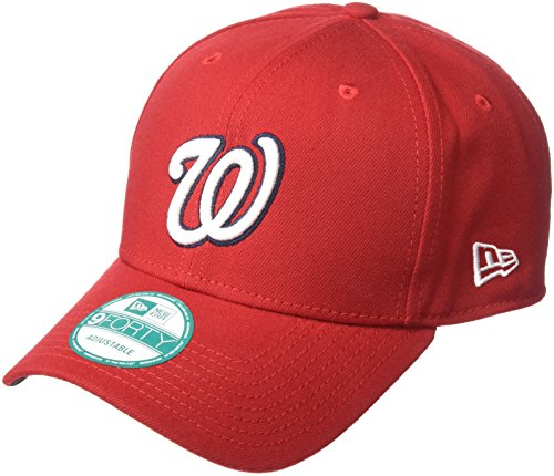 New Era Herren 9Forty Washington Nationals Kappe, Rot, OSFA