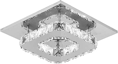 Objective Luxury Fashion Creative Crystal Ceiling Light Rectangular Simple Led Lamps For Bar Home Lighting Corridor Modern Lights & Lighting