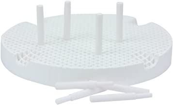 Garreco 7760801 Dental Honeycomb Firing Tray, 20 Ceramic Pins (Pack of 2)