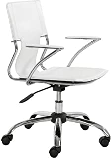 Zuo Modern Trafico Office Chair, White