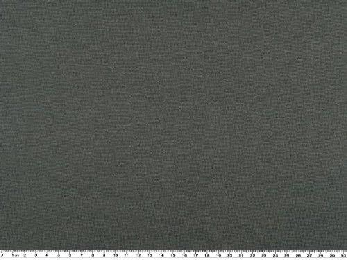 Style tricot uni polyester gris foncé 145 cm