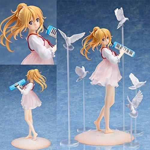 Tu Mentira en Abril Miyazono Kaori Permanente Servicio Privado de animación Modelo de Personaje Figura Estatua Decoración 23CM