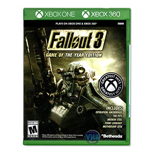 Bethesda Fallout 3 Game of The Year Edition, Xbox360