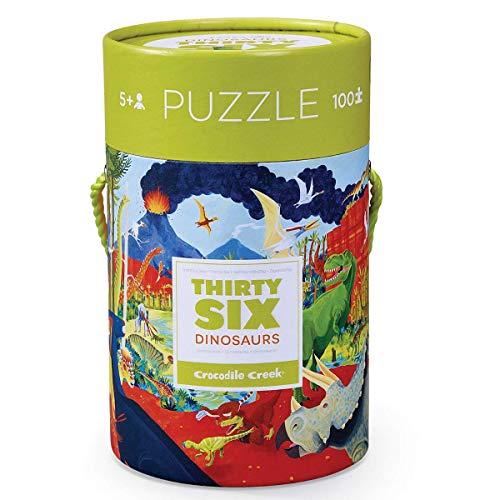 Crocodile Creek 4054-1 Puzzle Puzzle - Rompecabezas (Puzzle Rompecabezas, Dinosaurios, Niños, Dinosaurio, Niño/niña, 5 año(s))