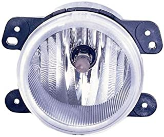 CarLights360: Fits 2005 2006 2007 DODGE MAGNUM Fog Light Assembly R=L w/Bulbs - (CAPA Certified) Replacement for CH2590109