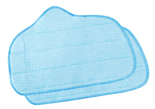 Steamfast A275-020 Replacement Microfiber Mop Pad SF-275/SF-370 and McCulloch MC1275 (2-Pack)