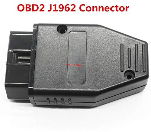 OBD2 OBDII EOBD JOBD ODB ODB2 ODBII EOBD2 OBD11 ODB11 J1962 Male Connector Plug Adapter WiringOBD2...