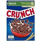 Cereales Nestlé Crunch - Cereales de trigo, arroz y maíz tostados con chocolate - 14 paquetes de...
