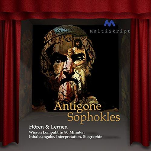 Antigone audiobook cover art