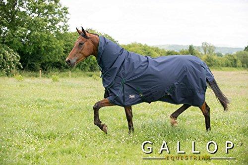 Gallop Trojan - Manta de caballo con cuello, 0g - EU 160cm