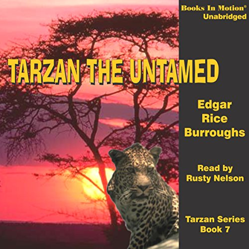 Tarzan Untamed audiobook cover art
