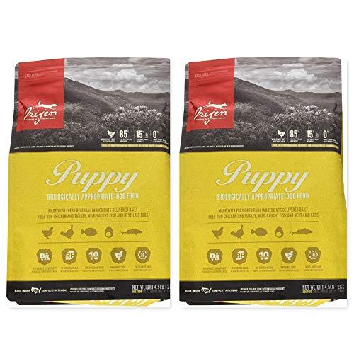 Orijen 2 Bag Bundle Puppy Food 4.5 lb. Each. Grain Free Dog Food!! 9 Pounds Total