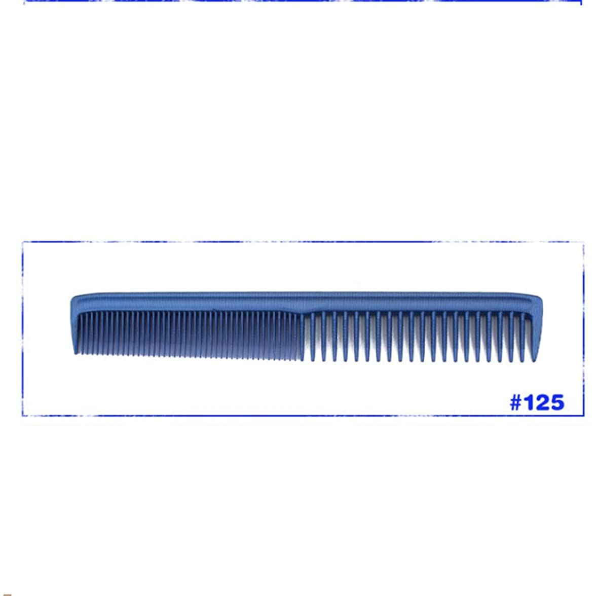 敬干渉バタフライ人のための超薄いハンドルの櫛または女性または人のプラスチック櫛のためのWome-Professional 3Dの毛の櫛 モデリングツール (サイズ : 121)