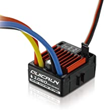 DYS Hobbywing QuicRun WP 1060 Brushed ESC 60A 2-3S LiPo Waterproof for RC 1/10th Touring Cars Buggies Trucks Rock Crawlers