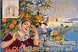 Posterlounge Cuadro de Aluminio 90 x 60 cm: Grand Hotel Palma de Mallorca de Joan Llaverias
