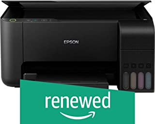 (Renewed) Epson EcoTank L3150 Wi-Fi All-in-One Ink Tank Printer (Black)