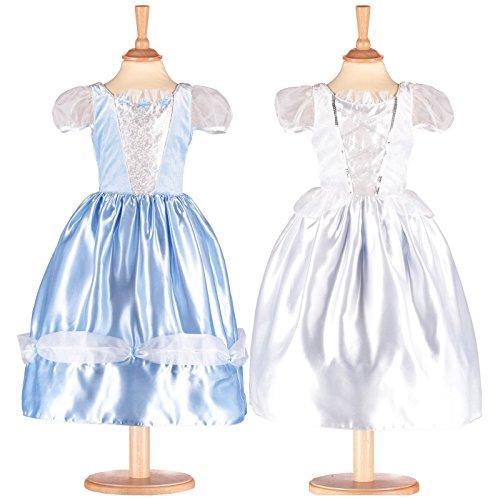 Amscan Robe jusqu'à prbr6 Princesse/Mariée Réversible 2 en 1-6-9 Robe bis fille non massif couleur 6-9 ans