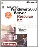 Microsoft Windows 2000 Server Resource Kit