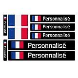 Haberdashery Online 9 Autocollants en Vinyle pour vélo, Moto, Bouteille, des Objets,...